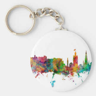 Edinburgh Scotland Skyline Key Chain