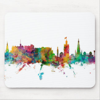 Edinburgh Scotland Skyline Mouse Mat