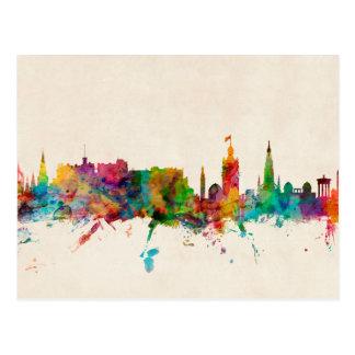Edinburgh Scotland Skyline Post Card