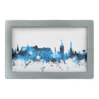 Edinburgh Scotland Skyline Rectangular Belt Buckle