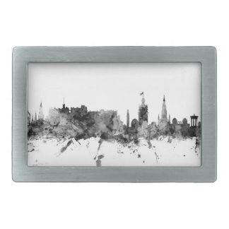 Edinburgh Scotland Skyline Rectangular Belt Buckles