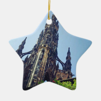 Edinburgh Scott's Monument Christmas Ornament