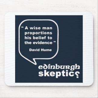 Edinburgh Skeptics - Hume Quote Mouse Mat