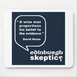 Edinburgh Skeptics - Hume Quote Mousepads
