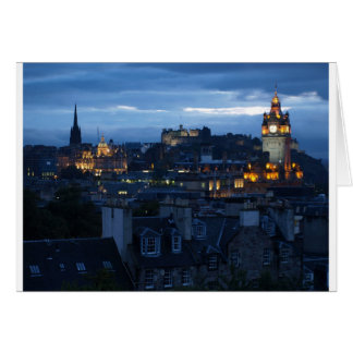 Edinburgh Skyline Card