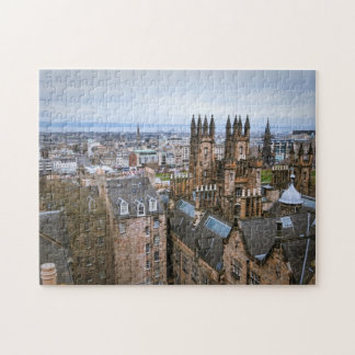 Edinburgh skyline, Edinburgh, Scotland Jigsaw Puzzle