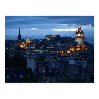 Edinburgh Skyline Postcard