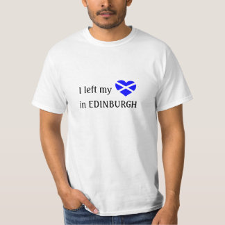 Edinburgh souvenir t-shirt