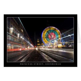 Edinburgh's Ferris Wheel Card