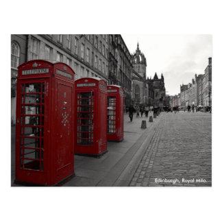 Edinburgh's Royal Mile Postcard