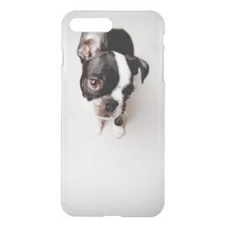 Edison Boston Terrier puppy. iPhone 8 Plus/7 Plus Case
