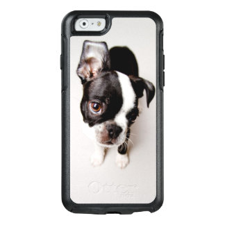 Edison Boston Terrier puppy. OtterBox iPhone 6/6s Case
