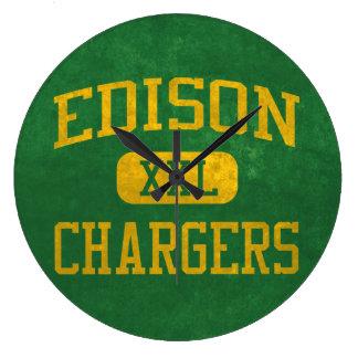 Edison Chargers Athletics Wallclocks