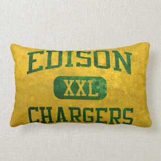 Edison Chargers Athletics Throw Pillow