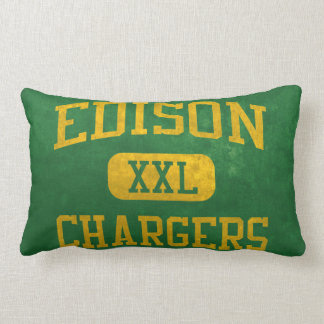 Edison Chargers Athletics Pillow