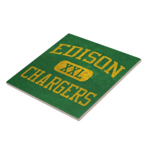 Edison Chargers Athletics Tiles