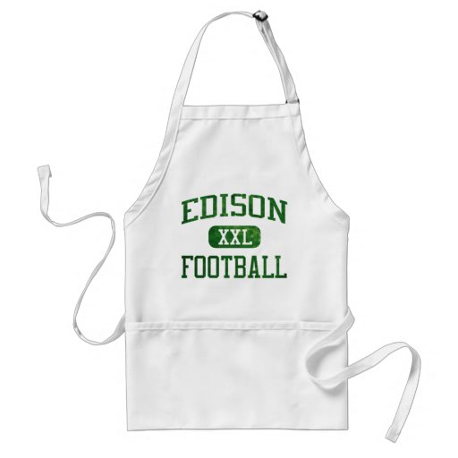 Edison Chargers Football Aprons