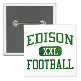 Edison Chargers Football Pins