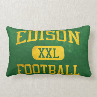 Edison Chargers Football Throw Pillow