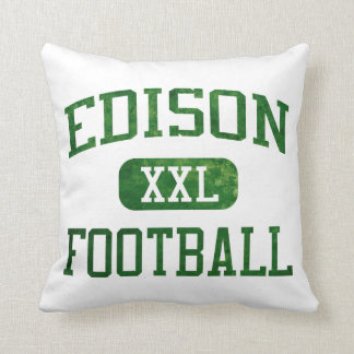 Edison Chargers Football Cushions