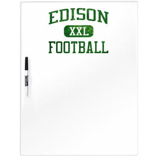 Edison Chargers Football Dry-Erase Board