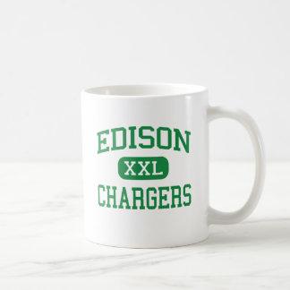 Edison - Chargers - High - Huntington Beach Classic White Coffee Mug