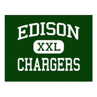 Edison - Chargers - High - Huntington Beach Postcard