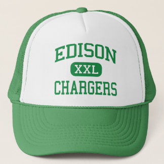 Edison - Chargers - High - Huntington Beach Trucker Hat