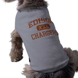 Edison - Chargers - High School - Milan Ohio Pet T Shirt