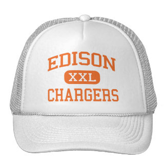Edison - Chargers - High School - Milan Ohio Hat