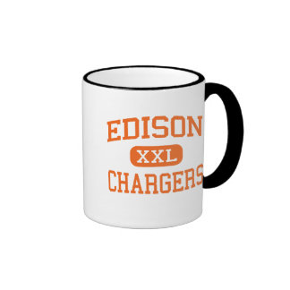 Edison - Chargers - High School - Milan Ohio Ringer Mug