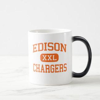 Edison - Chargers - High School - Milan Ohio Coffee Mugs