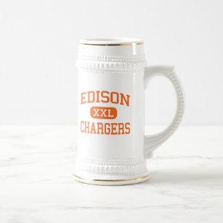 Edison - Chargers - High School - Milan Ohio Coffee Mug