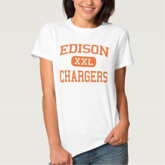 Edison - Chargers - High School - Milan Ohio Tshirt