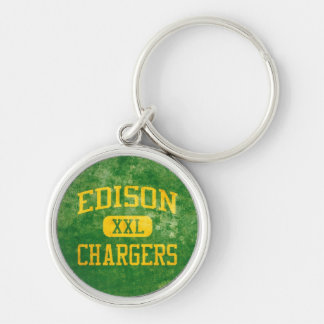 Edison Chargers Keychain