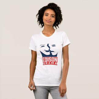 Edison Drama Fitted Ladies T-Shirt