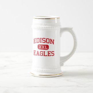 Edison - Eagles - High School - Edison New Jersey Coffee Mugs