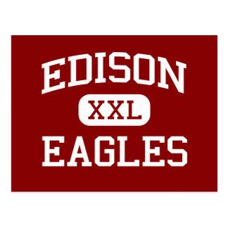 Edison - Eagles - Junior - Parkersburg Postcard