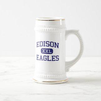 Edison - Eagles - Junior - Rock Island Illinois Coffee Mugs