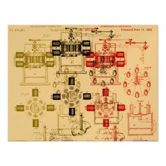Edison generator custom invitation