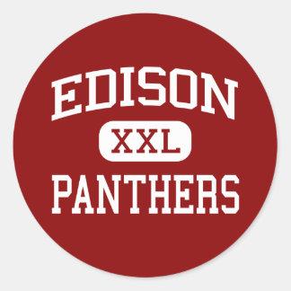 Edison - Panthers - Junior - Pekin Illinois Stickers