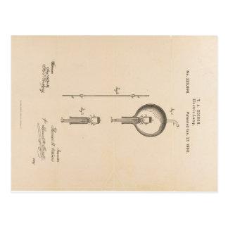 edison-patent-light-bulb-postcard-u.s. postcard