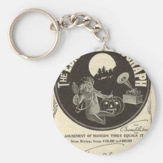 Edison phonograph key ring