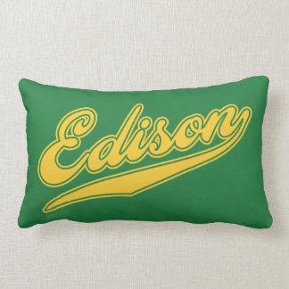 Edison Script Pillow