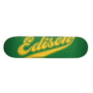 Edison Script Skate Board