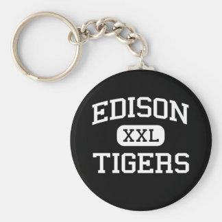 Edison - Tigers - High School - Fresno California Keychains
