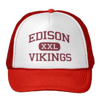 Edison - Vikings - High - Stockton California Trucker Hat