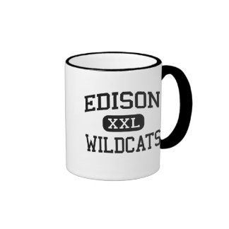 Edison - Wildcats - High School - Richmond Ohio Mug