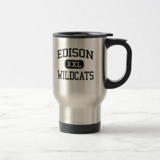 Edison - Wildcats - High School - Richmond Ohio Coffee Mugs