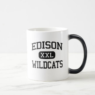 Edison - Wildcats - High School - Richmond Ohio Coffee Mug